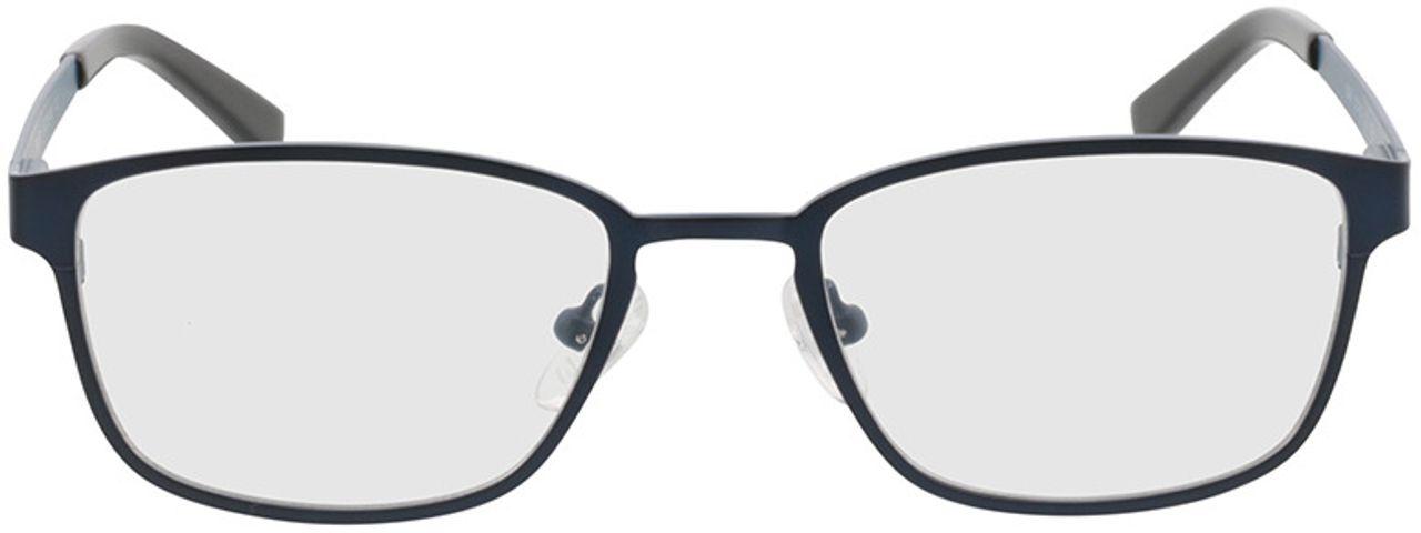 Picture of glasses model Anzio blue/black in angle 0