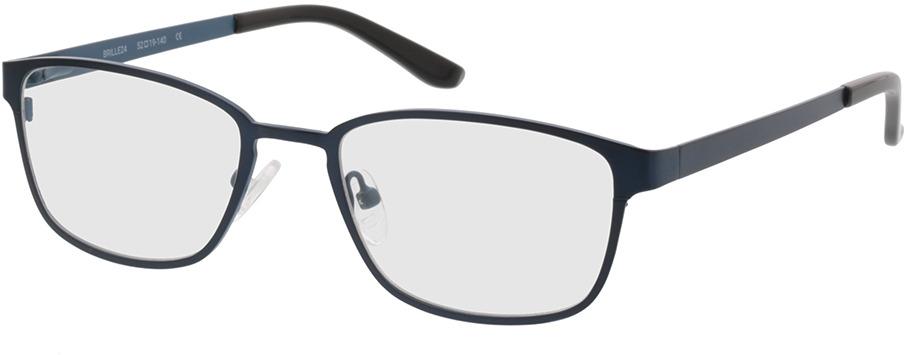 Picture of glasses model Anzio-blau/schwarz in angle 330
