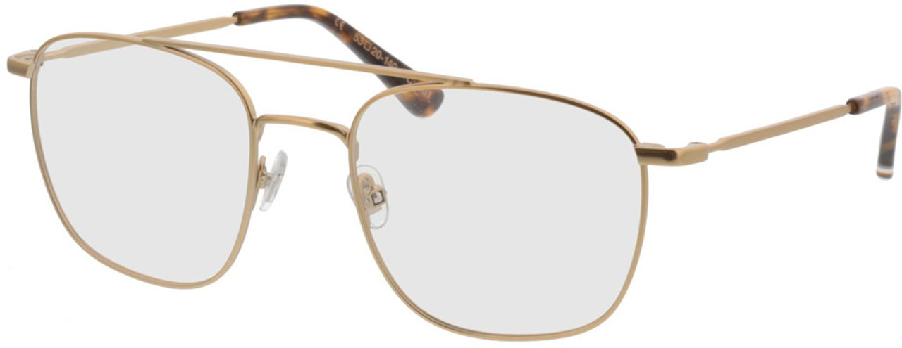 Picture of glasses model Superdry SDO Kare 001 gold 53-20 in angle 330