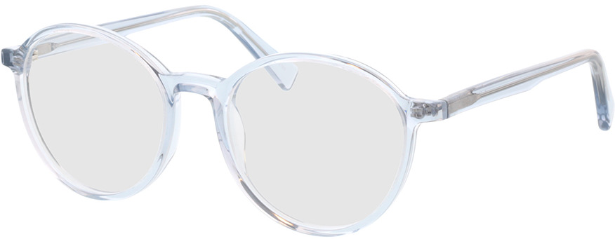 Picture of glasses model Olbia-hellblau-transparent in angle 330