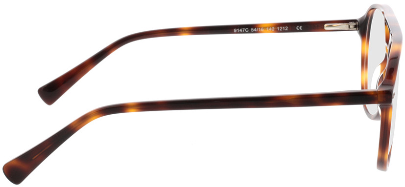 Picture of glasses model Enzo-braun-meliert in angle 90