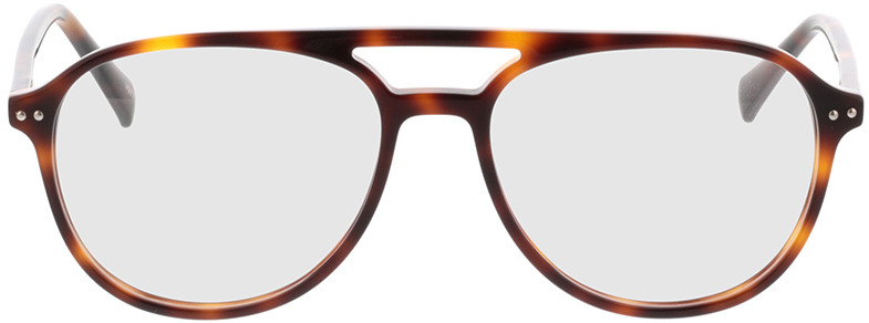 Picture of glasses model Enzo-braun-meliert in angle 0