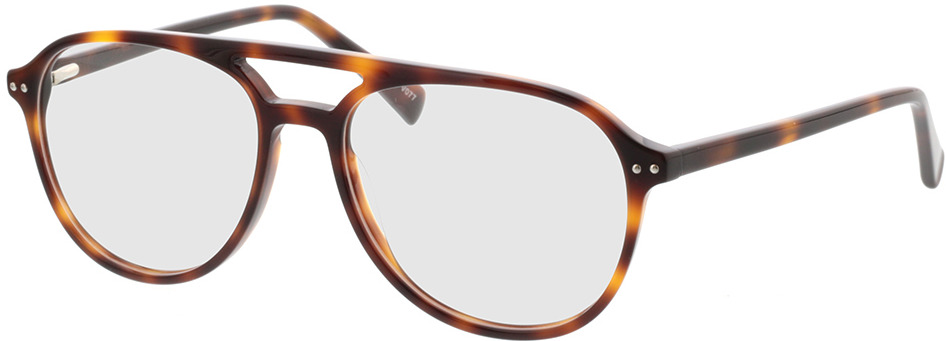 Picture of glasses model Enzo-braun-meliert in angle 330