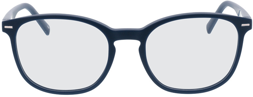 Picture of glasses model Olea blauw in angle 0