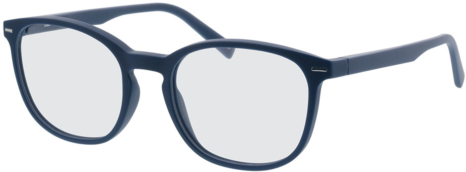 Picture of glasses model Olea blauw in angle 330
