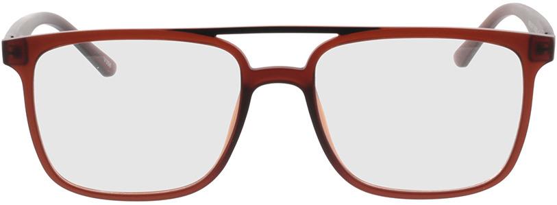 Picture of glasses model Glarus-braun in angle 0