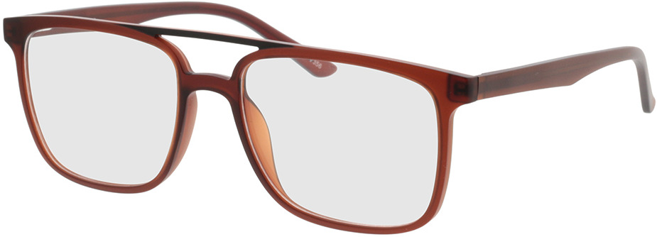 Picture of glasses model Glarus-braun in angle 330