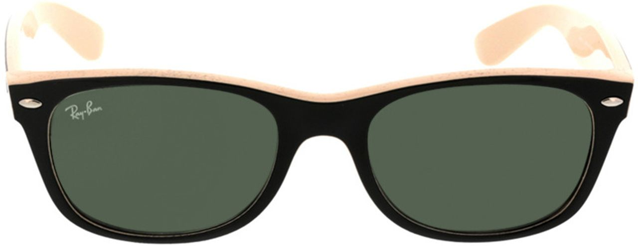 Picture of glasses model Ray-Ban New Wayfarer RB2132 875 52-18 in angle 0