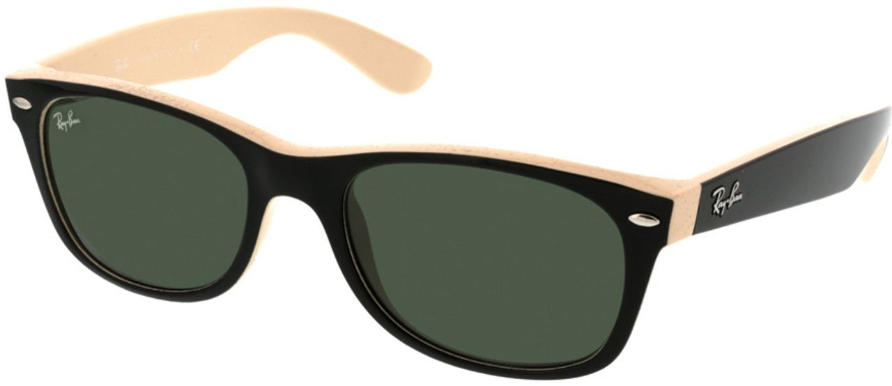 Picture of glasses model Ray-Ban New Wayfarer RB2132 875 52-18 in angle 330