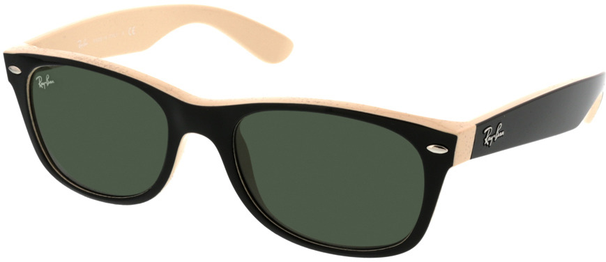 Picture of glasses model Ray-Ban New Wayfarer RB2132 875 52-18