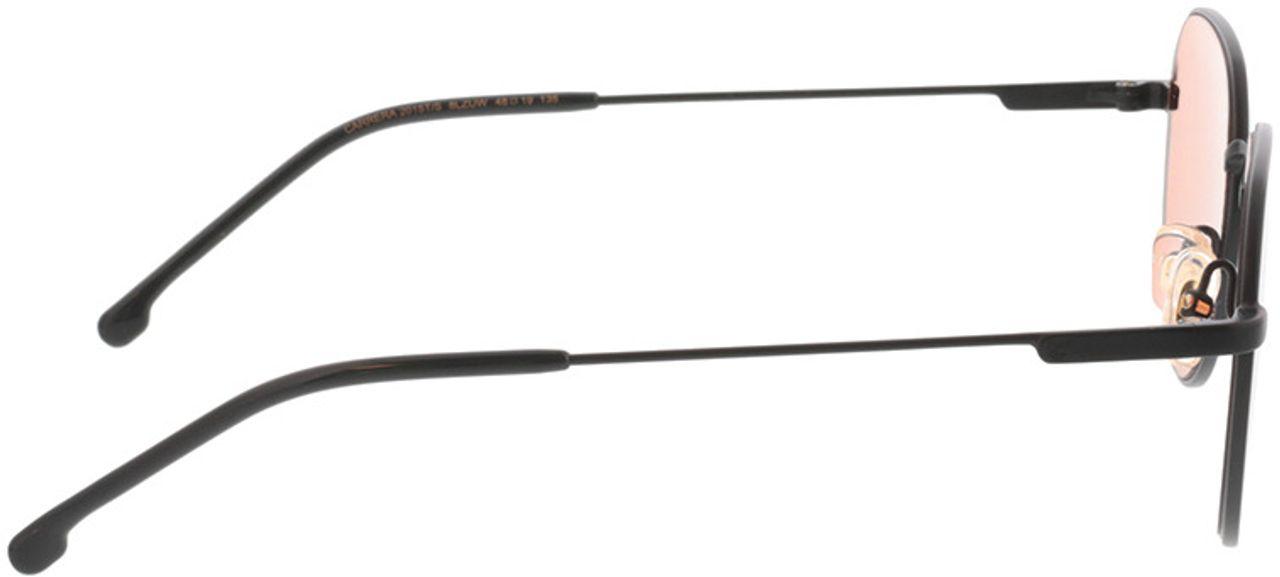 Picture of glasses model Carrera CARRERA 2015T/S 8LZ 48-19 in angle 90