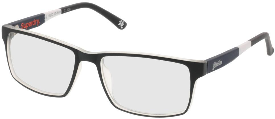 Picture of glasses model Superdry SDO Bendo 108 grau 56-17 in angle 330