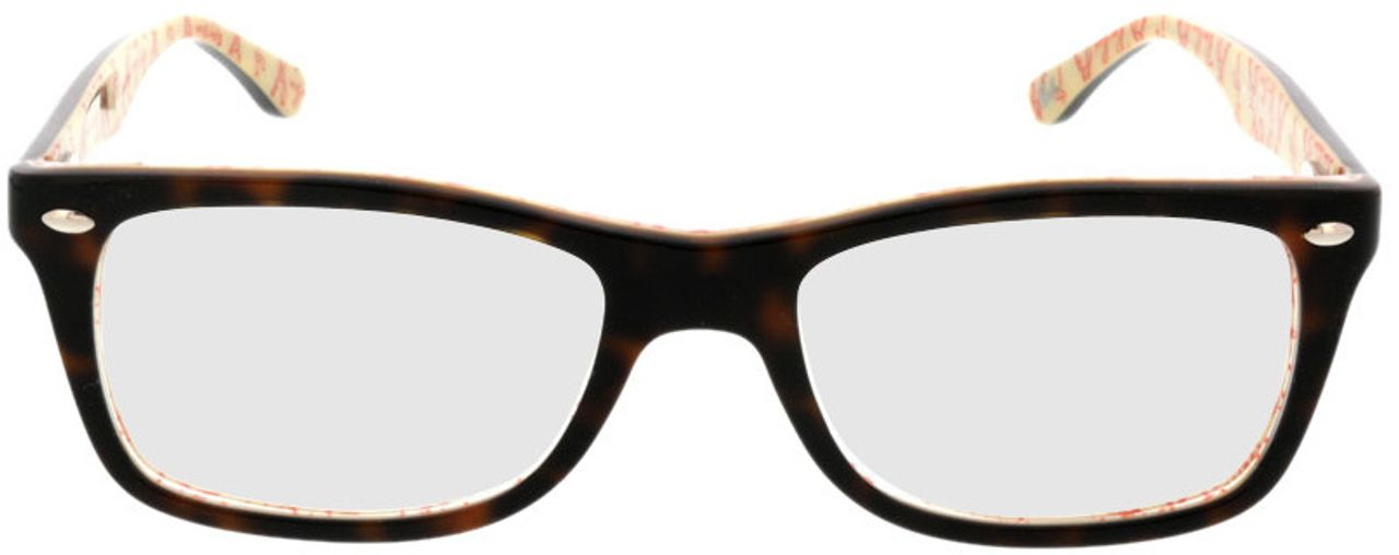 Picture of glasses model Ray-Ban RX5228 5057 50-17 in angle 0