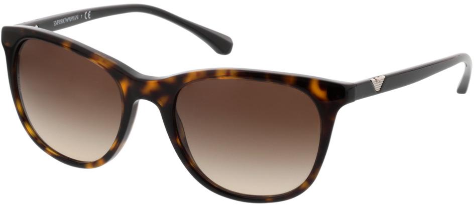 Picture of glasses model Emporio Armani EA4086 502613 54-19 in angle 330