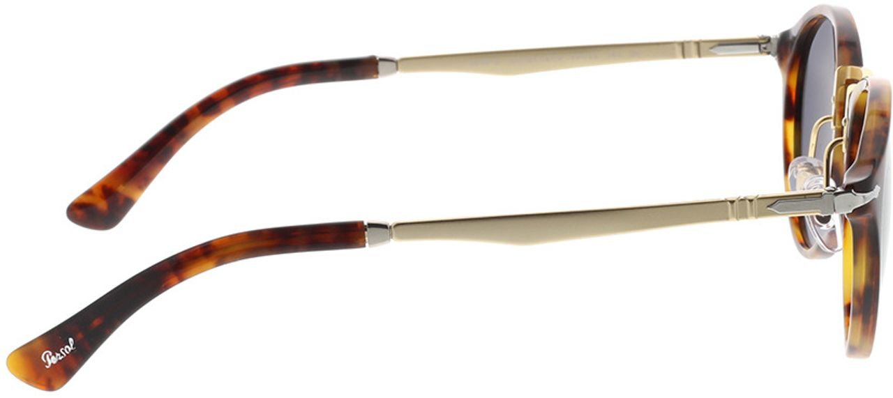 Picture of glasses model Persol PO3248S 108/B1 49-22 in angle 90
