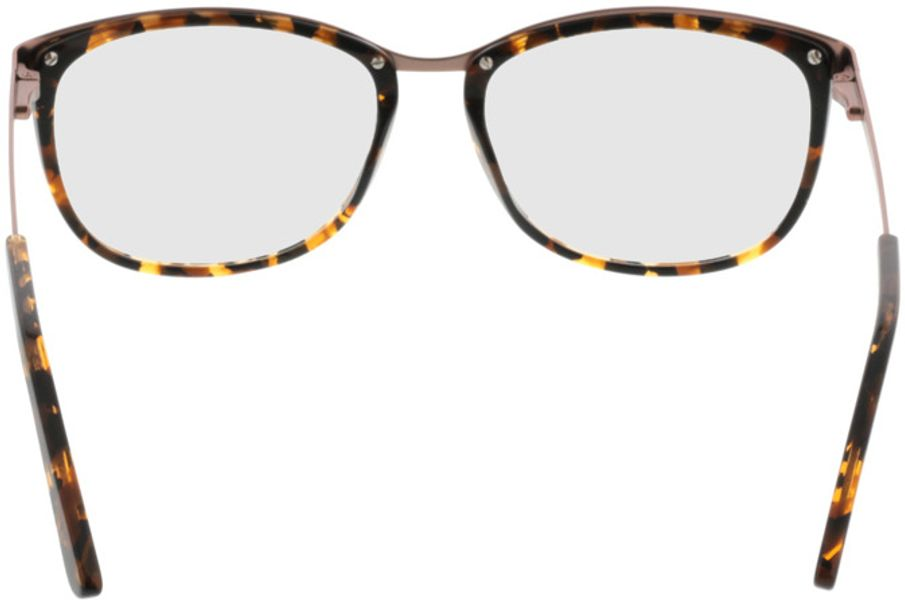 Picture of glasses model Comma70006 61 schwarz-braun-marmoriert 52-16 in angle 180