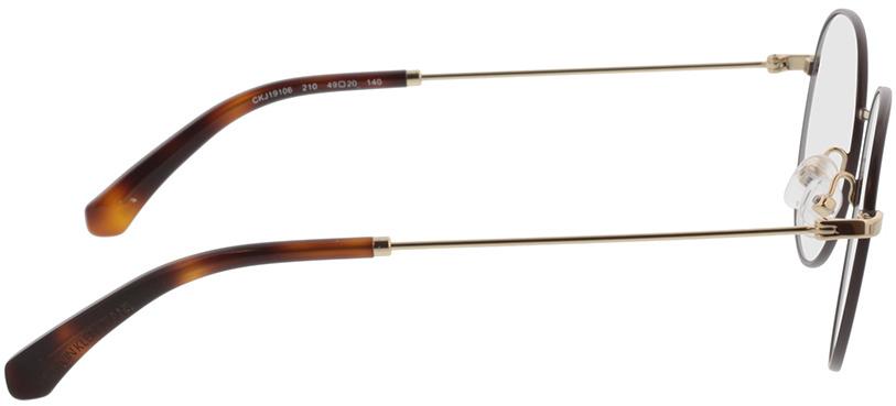 Picture of glasses model Calvin Klein Jeans CKJ19106 210 49-20 in angle 90