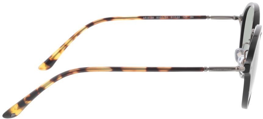 Picture of glasses model Giorgio Armani AR8139 500131 51-22 in angle 90