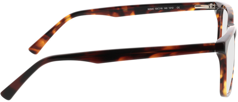 Picture of glasses model Balera-braun-meliert in angle 90