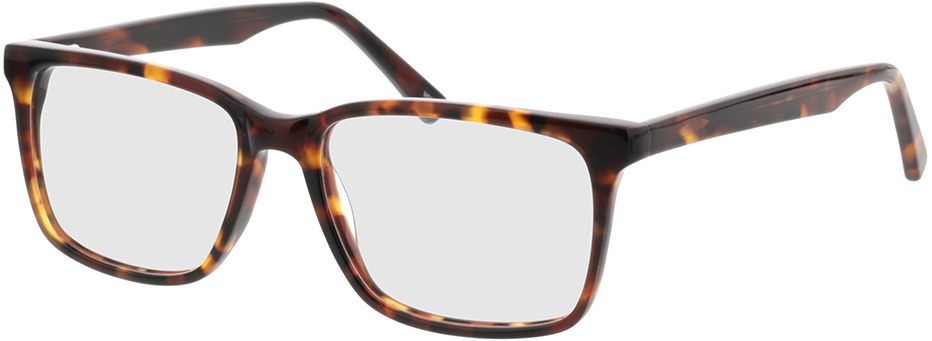 Picture of glasses model Balera-braun-meliert in angle 330