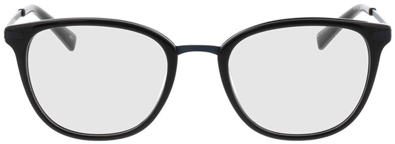 Picture of glasses model Adore-schwarz matt blau in angle 0