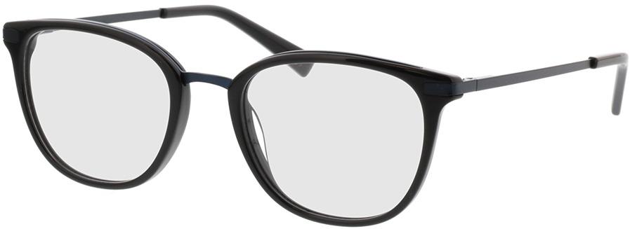 Picture of glasses model Adore-schwarz matt blau in angle 330