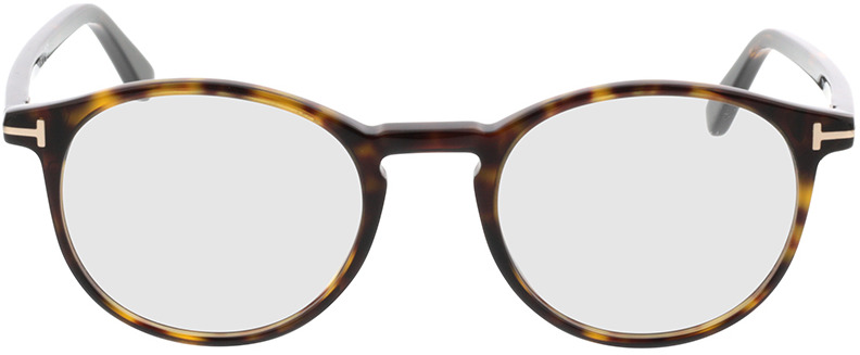 Picture of glasses model Tom Ford FT5294 052 in angle 0