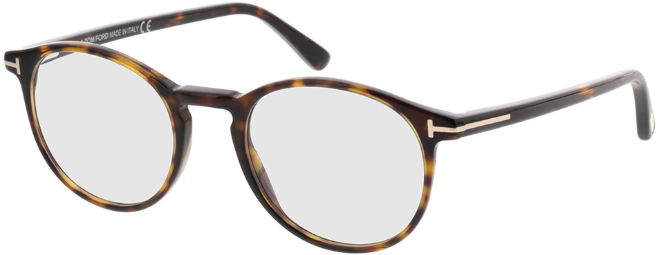 Picture of glasses model Tom Ford FT5294 052 in angle 330