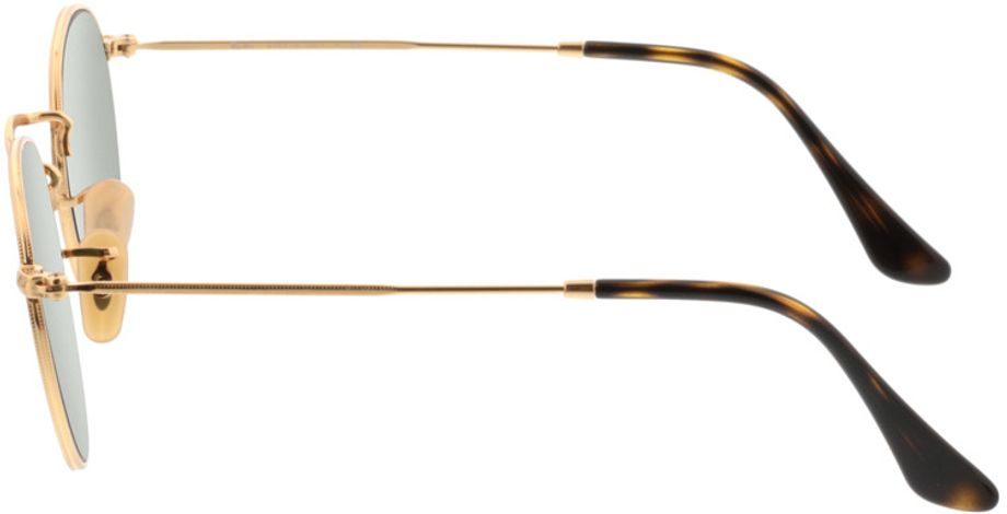 Picture of glasses model Ray-Ban Round Metal RB3447N 001/8O 47-21 in angle 270
