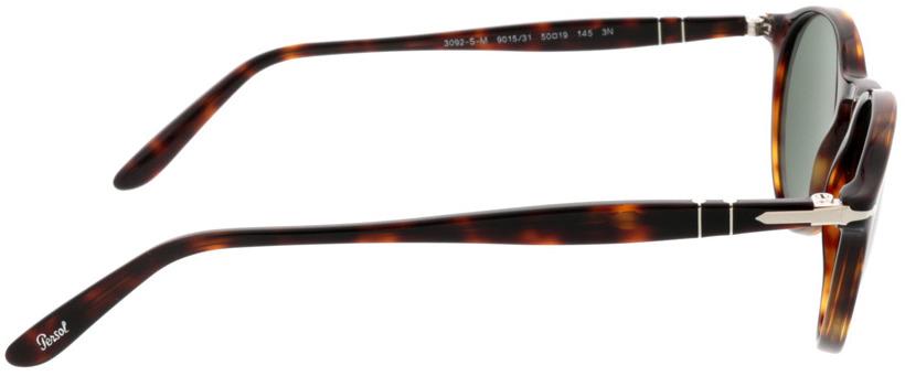Picture of glasses model Persol PO3092SM 901531 50-19 in angle 90