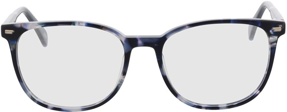 Picture of glasses model Katy-blau-meliert in angle 0