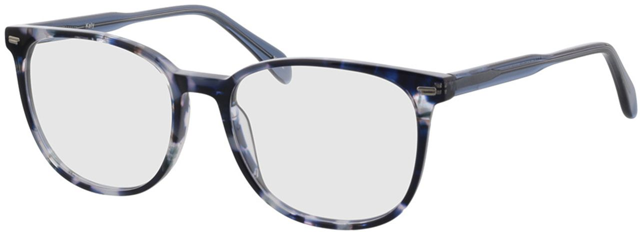 Picture of glasses model Katy-blau-meliert in angle 330