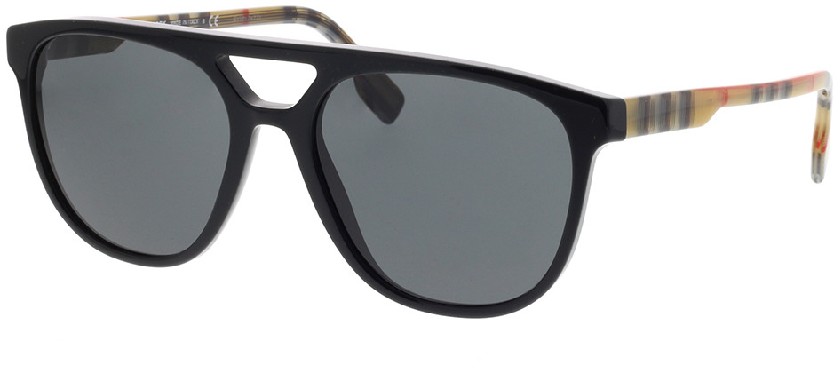 Picture of glasses model Burberry BE4302 300187 56-18 in angle 330