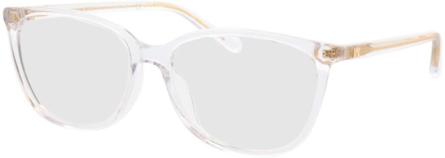 Picture of glasses model Michael Kors Santa Clara MK4067U 3015 55-16 in angle 330