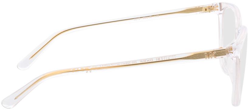 Picture of glasses model Michael Kors Santa Clara MK4067U 3015 55-16 in angle 90