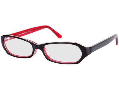 Brille Lorient-schwarz/rot