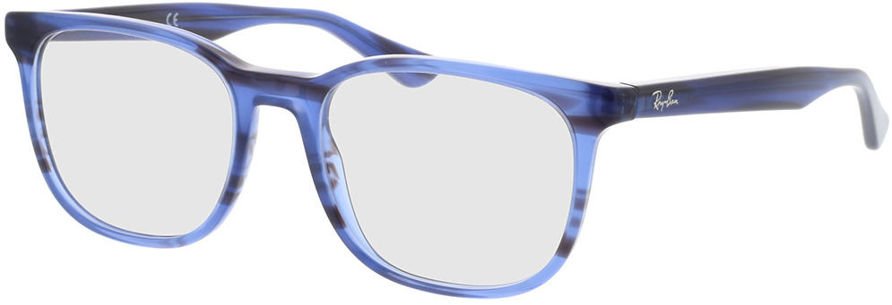 Picture of glasses model Ray-Ban RX5369 8053 52-18 in angle 330