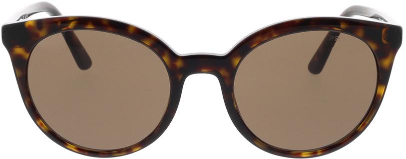 Picture of glasses model Prada PR 02XS 2AU8C1 53-21 in angle 0