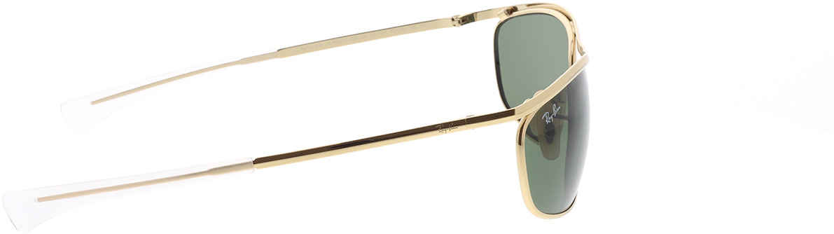 Picture of glasses model Ray-Ban Olympian I Deluxe RB3119M 001/31 62-18 in angle 90
