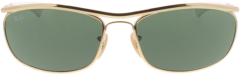 Picture of glasses model Ray-Ban Olympian I Deluxe RB3119M 001/31 62-18 in angle 0