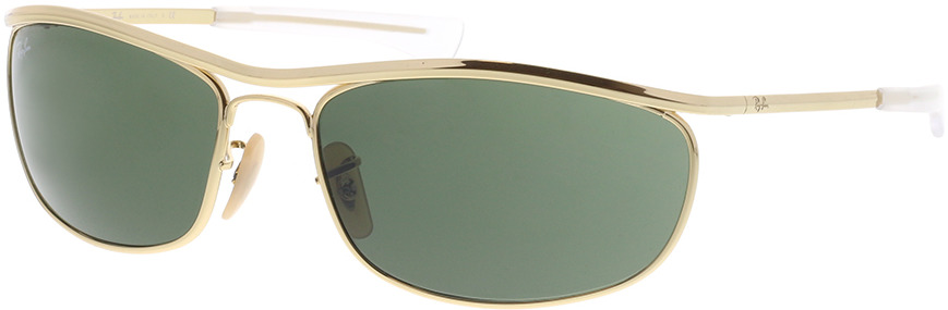 Picture of glasses model Ray-Ban Olympian I Deluxe RB3119M 001/31 62-18 in angle 330