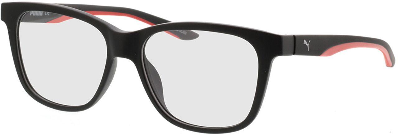 Picture of glasses model Puma PU0208O-001 54-16 in angle 330