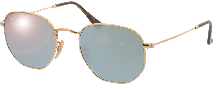 Picture of glasses model Ray-Ban RB3548N 001/30 51 21