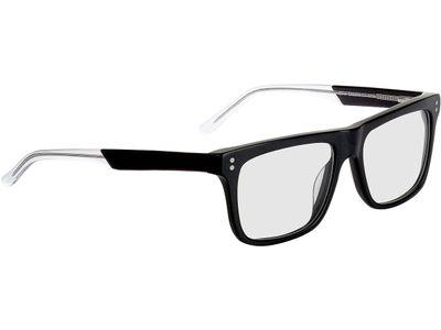 Brille Curitiba-schwarz-transparent