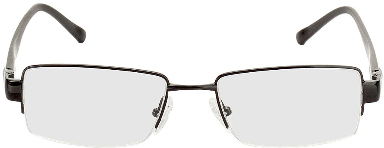 Picture of glasses model Villach black in angle 0