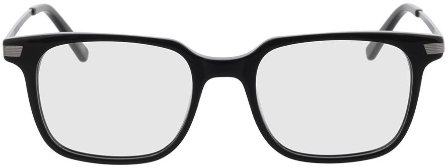 Picture of glasses model Moca-schwarz/anthrazit in angle 0