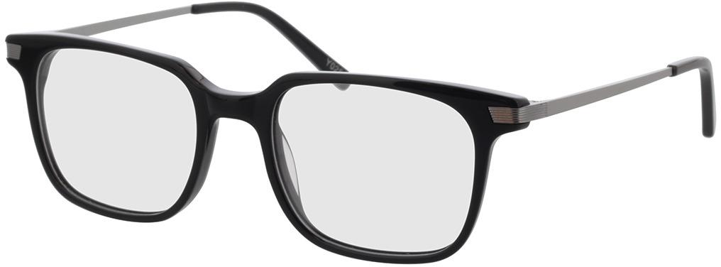 Picture of glasses model Moca-schwarz/anthrazit in angle 330