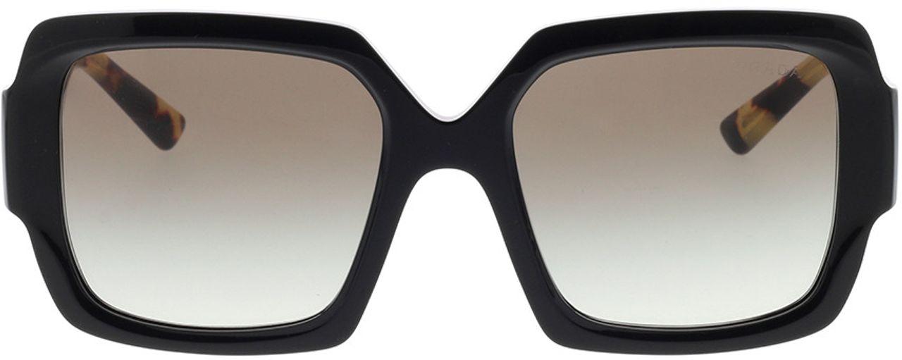 Picture of glasses model Prada PR 21XS 1AB0A7 54-19 in angle 0