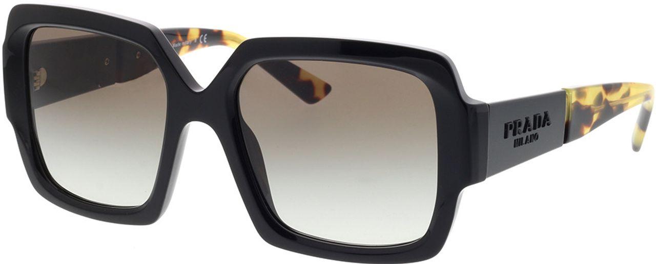 Picture of glasses model Prada PR 21XS 1AB0A7 54-19 in angle 330