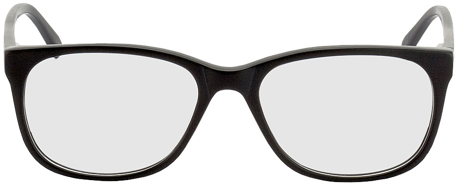 Picture of glasses model Narvik-schwarz in angle 0